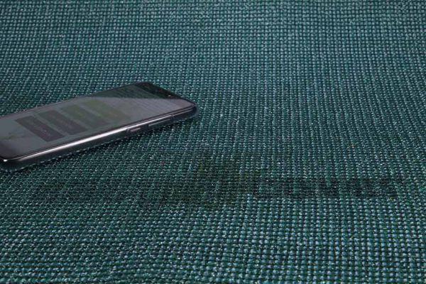 Textiler Werbezaun 140g/qm